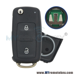 For VW remote key 2 button 434mhz ID48 5K0837202AD