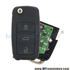 1K0 959 753N Remote key for VW HU66 3 button 434mhz 1K0959753N