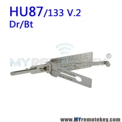 LISHI HU87/133 Dr/Bt 2 in 1 Auto Pick and Decoder