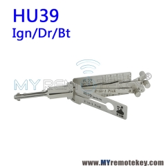 LISHI HU39 Ign/Dr/Bt 2 in 1 Auto Pick and Decoder For Mercedes