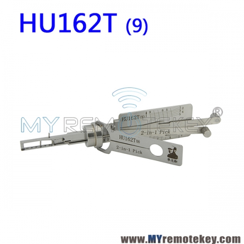 LISHI HU162T (9) 2 in 1 Auto Pick and Decoder For New VW Skoda