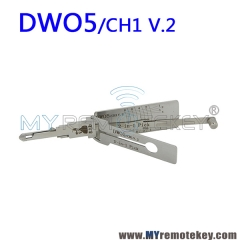 LISHI DWO5 CH1 v.2 2 in 1 Auto Pick and Decoder