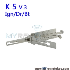 LISHI K 5 v.3 Ign/Dr/Bt 2 in 1 Auto Pick and Decoder