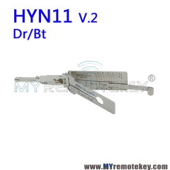 LISHI HYN11 v.2 Dr/Bt 2 in 1 Auto Pick and Decoder