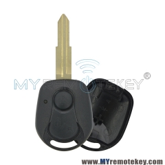 Remote key shell 2 buttons for Ssangyong Actyon Kyron Rexton