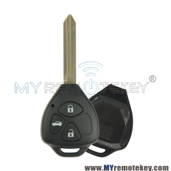 Remote key shell for Toyota 3 button TOY47