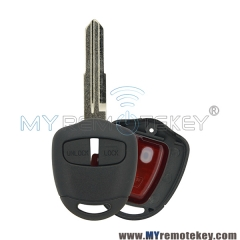 G8D-576M-A Remote key 2 button 46LCK chip MIT11R key blade for Mitsubishi Grandis Lancer Outlander Colt Mirage