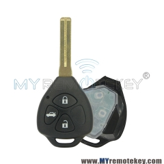 Remote car key for Toyota Crown 434mhz 3 button TOY48