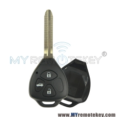 Remote key shell for Toyota 3 button TOY43