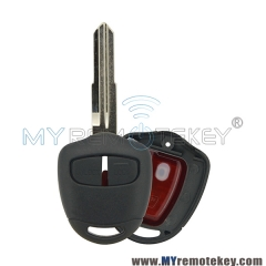 Remote key 2 button MIT8L with 4D61 chip for Mitsubishi Montero Pajero Shogun Triton Lancer Evo CT9A Vll Vlll lX