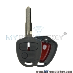 Remote key 3 button 434Mhz MIT11R for 2007 2008 2009 2010 2011 2012 2013 2014 Mitsubishi Lancer CJ Sedan