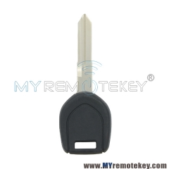 Transponder key blank for Mitsubishi