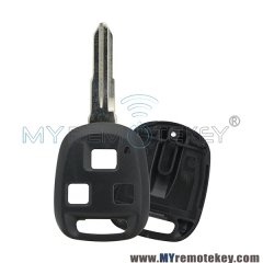 Remote car key shell case 3 button for Isuzu Rodeo Axiom