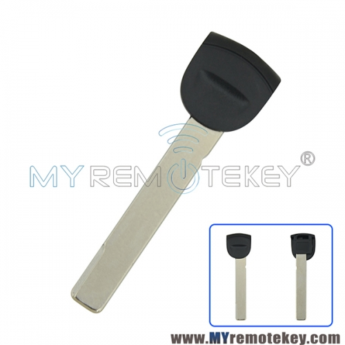 Smart emergency key blade for Porsche