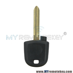 Transponder key blank for Isuzu
