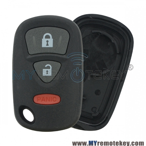 KBRTS005 OUCG8D-246S-A Remote fob case shell cover 3 button for Suzuki Aerio XL-7 Grand Vitara 2004 2005 2006 2007 850G-G8D246SA 2111B-TS005