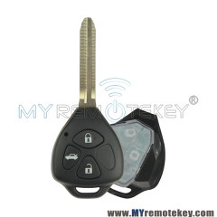 TOKAI RIKA Remote car key TOY43 434Mhz 314mhz 4D67 chip G chip 3 button for Toyota Hilux