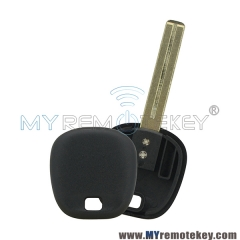 Transponder key blank for Toyota TOY48 short