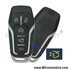 Smart key shell case for Ford Fusion 5 button M3N-A2C31243300