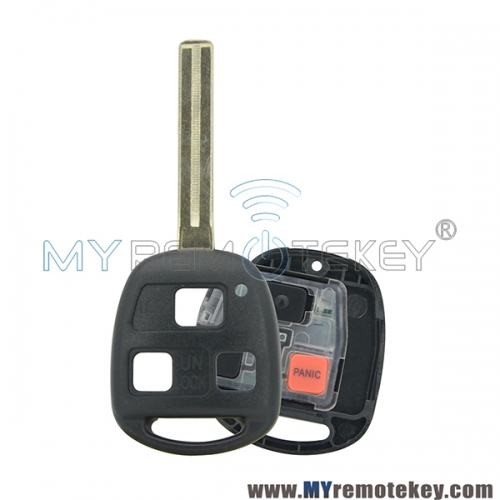 Remote key for Lexus TOY48 long 3 button 315mhz