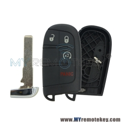 For Chrysler Dodge Jeep 4 button smart key shell case