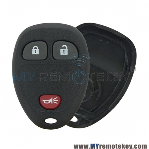For Buick Lucerne Cadillac Chevrolet remote fob case OUC60270 3 button