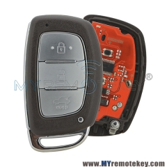 Smart car key for Hyundai IX35 433mhz 3 button