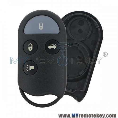 A269ZUA078 remote fob case 3 button for Nissan Maxima Infiniti I30 1995 1996 1997 1998 1999 3 button KBRASTU15