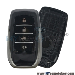 Smart car key case shell for Toyota 4 button