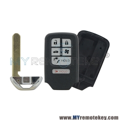 New type smart car key shell case 6 button for Honda