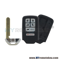 KR5V1X 72147-TK8-A61 72147TK8A61 smart car key shell case 6 button for 2017 Honda Odyssey Driver 1