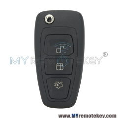 2036872 car remote flip key 3 button 434mhz FSK 4D63 chip for Ford Mondeo Focus C-Max S-Max 2011 2012 2013 2014 AM5T15K601AD