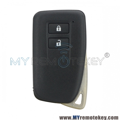 Smart key case shell 2 button for Lexus ES250 IS250 GS350 GS450h