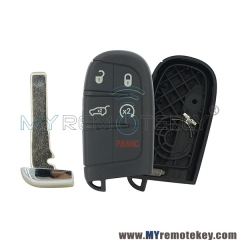 For Chrysler Dodge Jeep 5 button smart key shell case