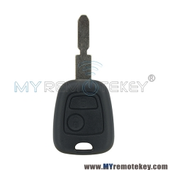 Remote key for citroen peugeot 2 button 434mhz NE78 ID46 electronic chip