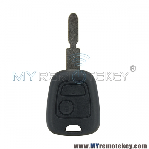 Remote key shell for citroen peugeot 2 button NE78