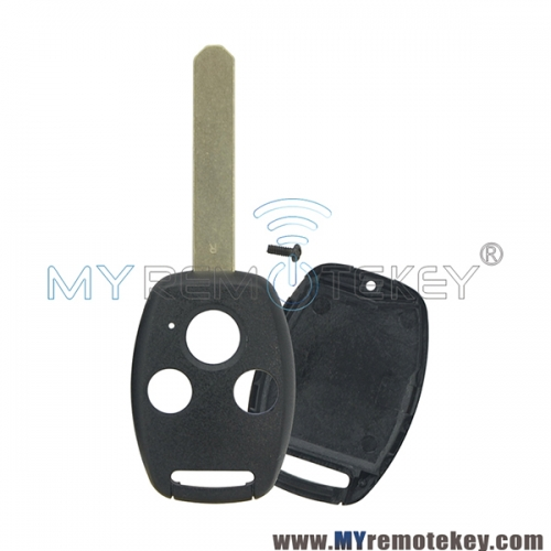 (with chip room)Remote key shell 3 button for Honda CRV Civic Accord
