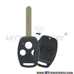 (No chip room) Remote car key shell 3 button for Honda