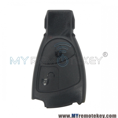 For Mercedes benz C E ML Class smart key shell case 2 button