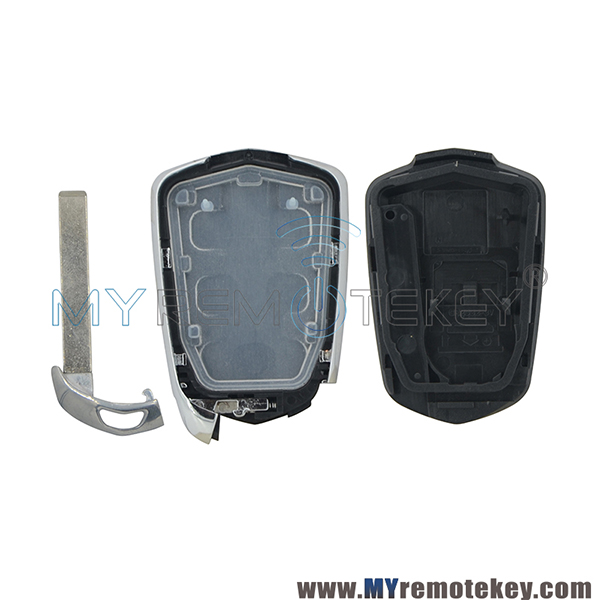 Smart Key Case For Cadillac CTS SRX ATS 4 Button With