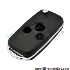 Refit flip remote key shell case 3 button for Honda