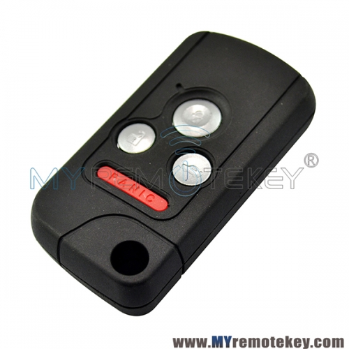 Refit flip key shell case 3 button with panic for Honda