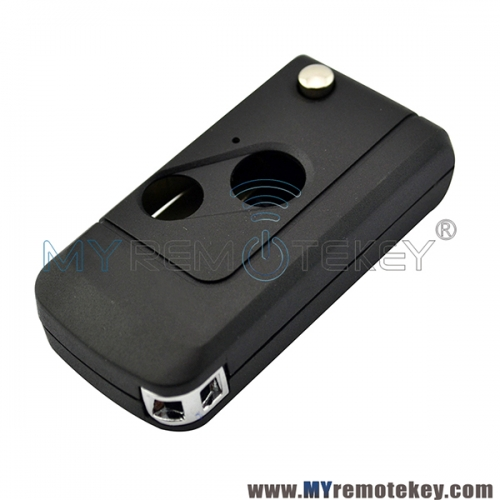 Refit flip key case 2 button for Honda Accord Civic Fit 2007