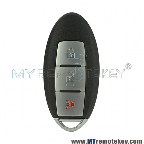 CWTWBU729 smart car key shell case for Infiniti 3 button no notch