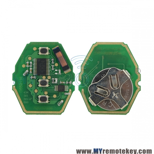 CAS system circuit board for BMW 315mhz/434mhz/868mhz optional