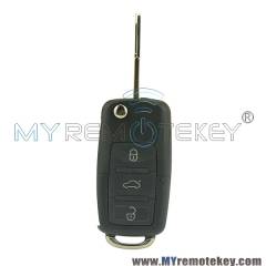 Flip key blade 3 button 433Mhz NE72 for Peugeot Citroen