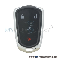 Smart key shell 4 button for Cadillac HYQ2AB