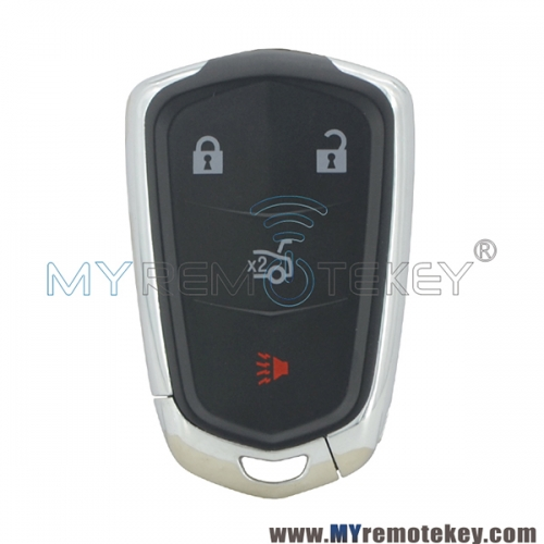 Smart key shell 4 button for Cadillac  ATS CTS XTS 2014 2015 2016 2017 2018 HYQ2AB 13580811