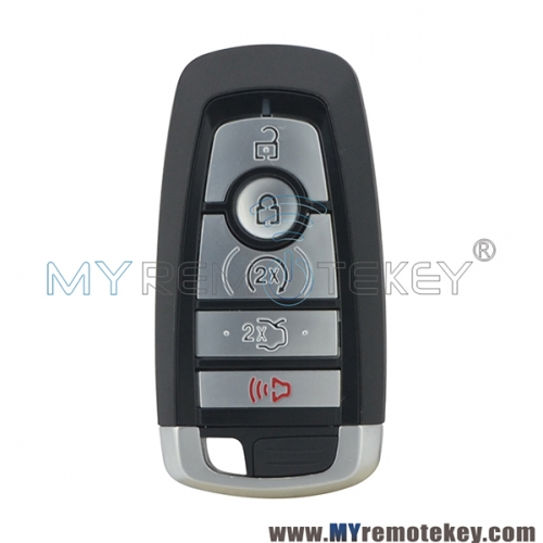 M3N-A2C93142600 smart key shell case 5 button for 2018 Ford Edge