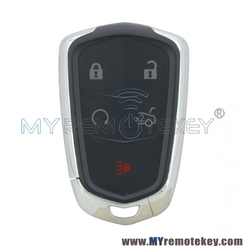 Smart key case for Cadillac CTS SRX ATS 4 button with panic HYQ2AB